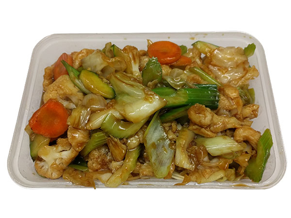 Chinese meal from wings takeaway